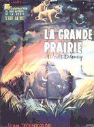 Vanishing prairie french poster