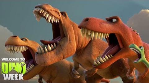 Welcome to DinoWeek - The Good Dinosaur