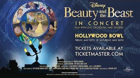 "Disney Beauty and the Beast - In Concert - ""Tale As Old As Time"""