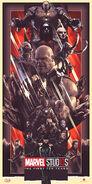 MCU First Ten Years Villains Poster