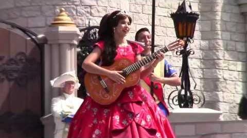 "NEW! Disney Junior Princess Elena of Avalor SINGING ""My Time"" at Magic Kingdom, Walt Disney World"