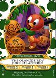 Orange Bird Sorcerers Card