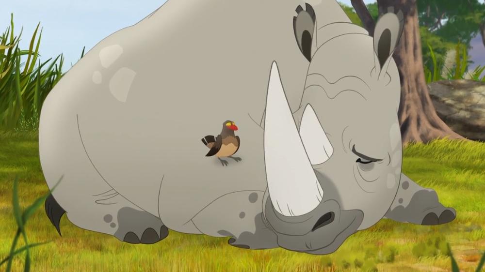 Tickbirds and Rhinos