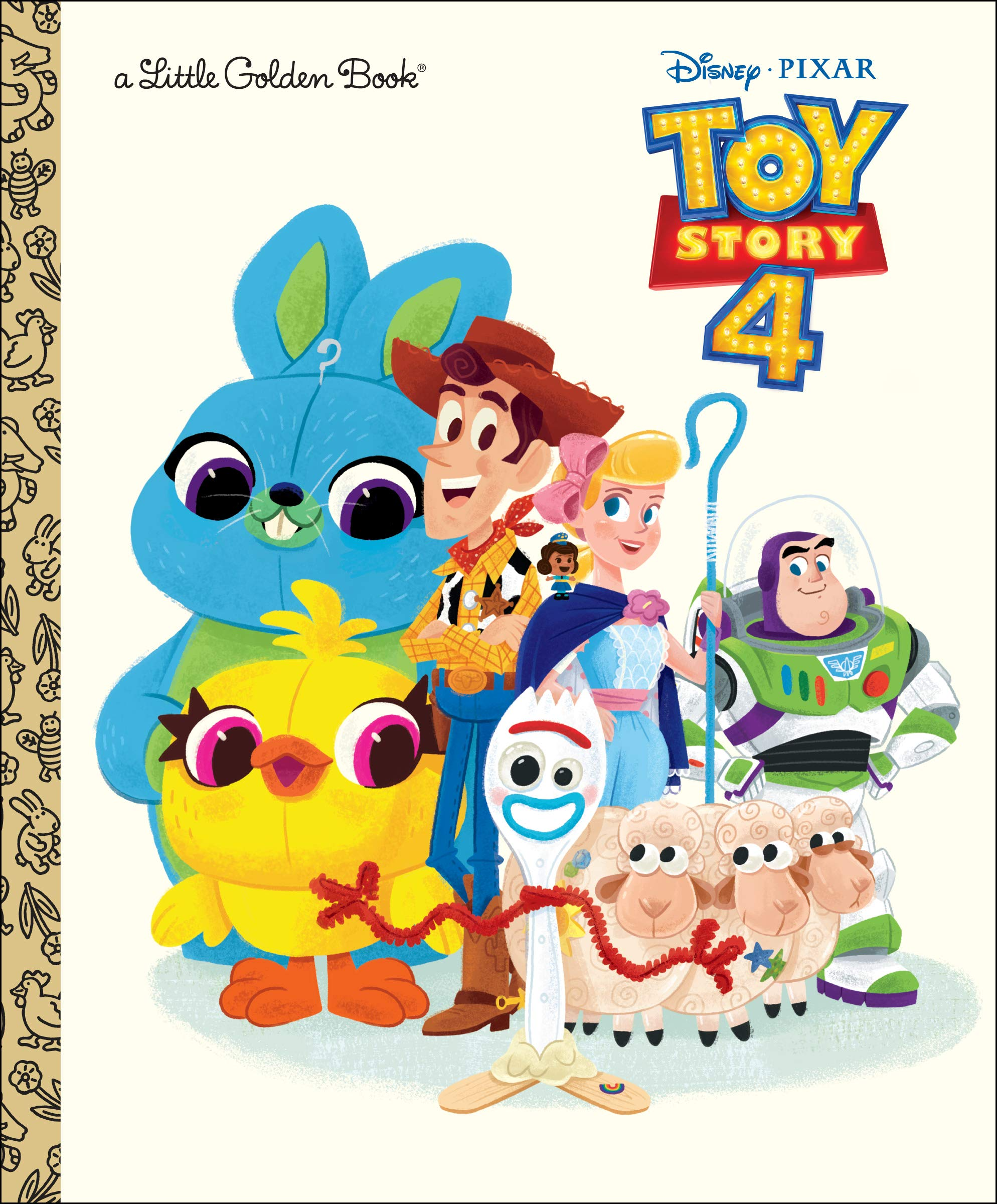 Toy Story 4 (Little Golden Book)