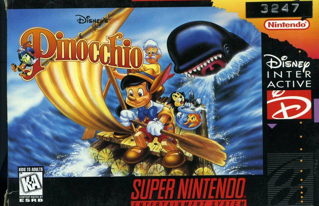 Pinocchio (video game)