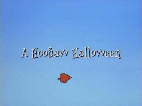 A Hoohaw Halloween