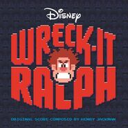 Wreck-It Ralph score CD cover