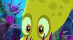 Gold squid emerges