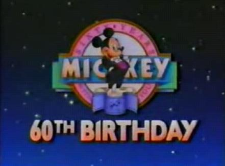 Mickey's 60th Birthday