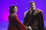 Once Upon a Time - 3x19 - A Curious Thing - Production - Snow and Charming