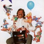 Jim Cummings with his Disney Afternoon characters