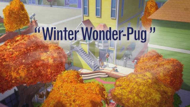 Winter Wonderpug