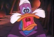 Darkwing Duck scared