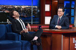 David Tennant visits Stephen Colbert