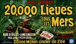 20000 leagues belgian poster
