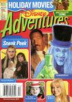 Disney Adventures Magazine cover December January 2004 Holiday Movies