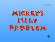 Mickey's Silly Problem