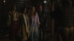 Once Upon a Time - 6x15 - A Wondrous Place - Aladdin, Jasmine, Ariel and Hook.jpg