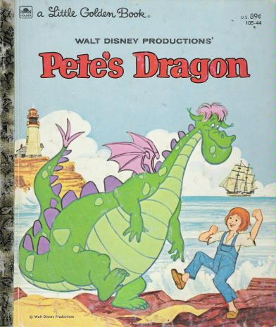 Pete's Dragon (Little Golden Book)