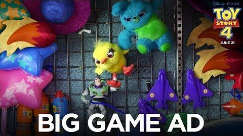 Toy Story 4 Big Game Ad