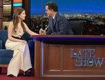 Anna Kendrick visits Stephen Colbert