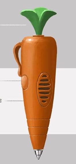 Caneta-Cenoura
