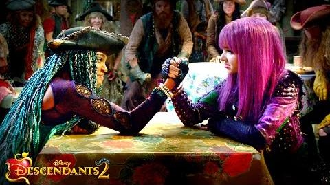 Descendants 2 clip - Uma vs