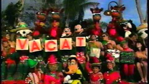 V-A-C-A-T-I-O-N Christmas Day is Here