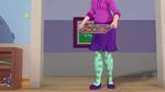 Miss Nanny offers croissants