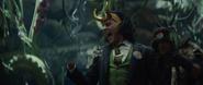 President Loki screaming - Loki EP5