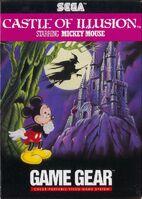 Castle of Illusion - Sega Game Gear Cover