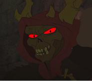Horned King Smile
