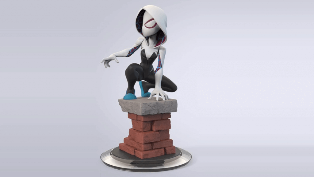 Cancelled Disney INFINITY Figure - Spider Gwen.png