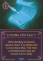 DVG Binding Contract Eric's Ship
