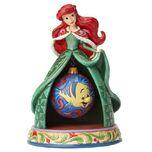 Disney Traditions The Little Mermaid Ariel Christmas Tidings of Wonder Statue