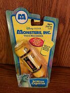 Monsters Inc Scream Canister Voice Recorder