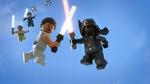 Rey vs Darth Vader - The LEGO Star Wars Holiday Special