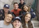 SM No Way Home Cast & Crew Photo