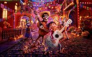 Coco Wallpaper - Land Of The Dead