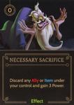 Necessary Sacrifice
