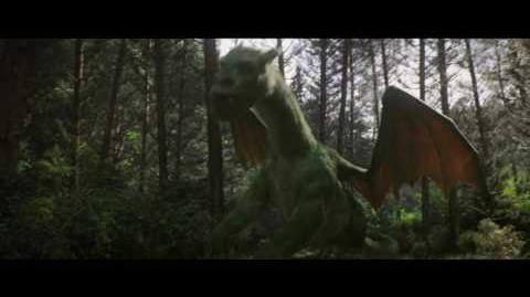 "Petes Dragon clip ""Elliot Takes Pete for a Ride"""