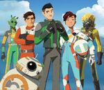 Star Wars Resistance cast