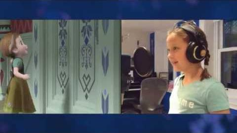 """""""Voices of Young Elsa & Anna"""" Clip - The Story of Frozen Making a Disney Animated Classic"""