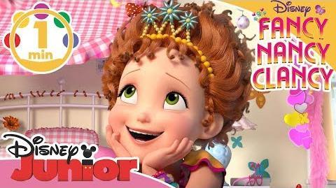 Fancy Nancy Clancy Dansk introsang ⭐️- Disney Junior Danmark