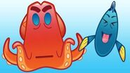 Finding Dory As Told By Emoji Disney