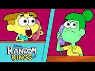 Rat Circus 🐀 - Random Rings - Big City Greens - Disney Channel