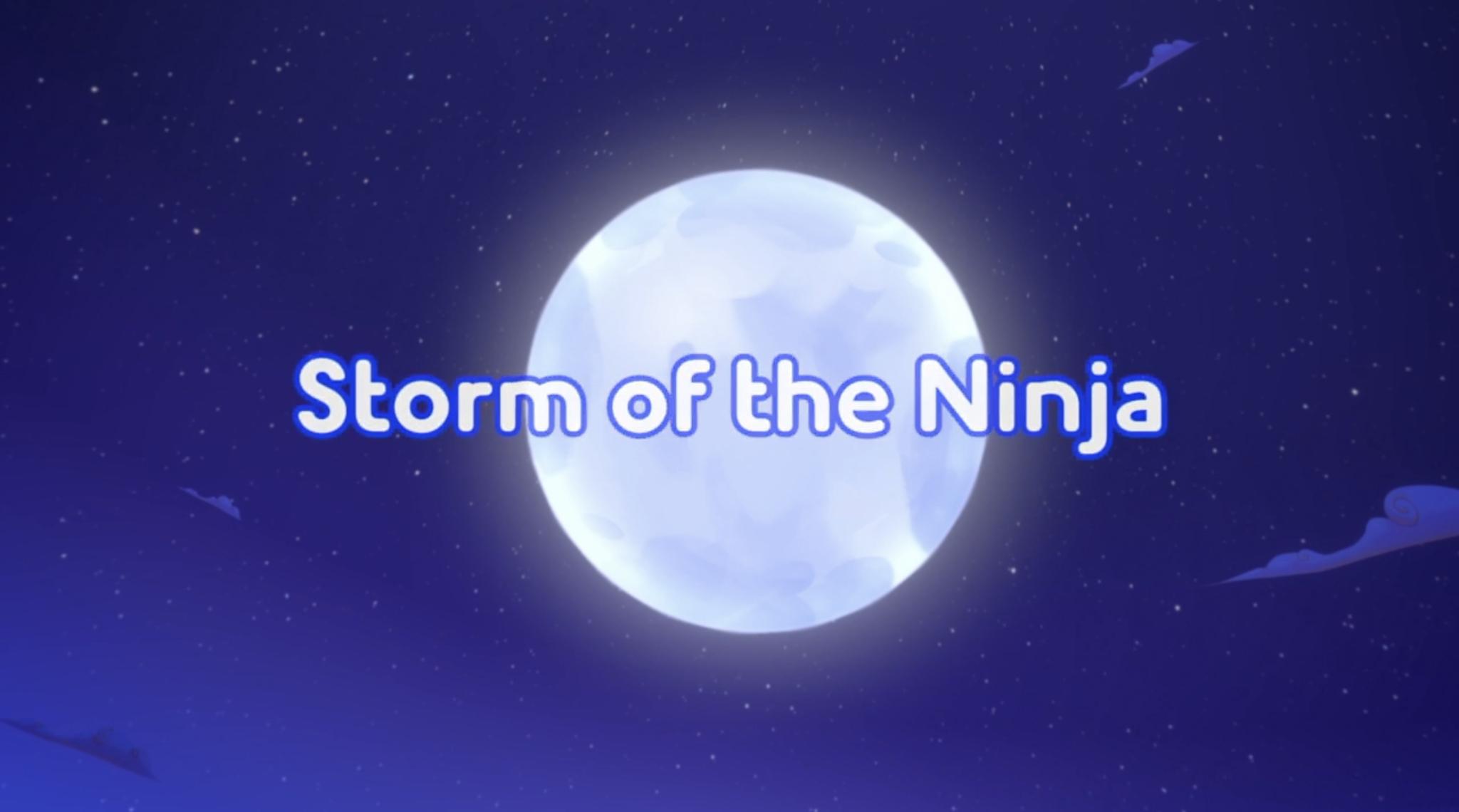 Storm of the Ninja