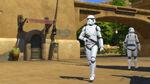 The Sims 4 Star Wars Journey to Batuu - Stormtrooper walking