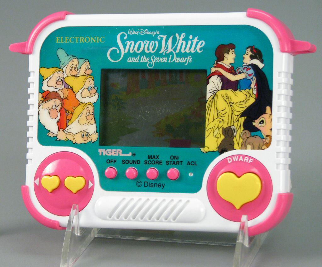 Branca de Neve e os Sete Anões (Tiger Electronics)