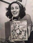 Adriana Caselotti - voice of Snow White, 1937 (age 21)